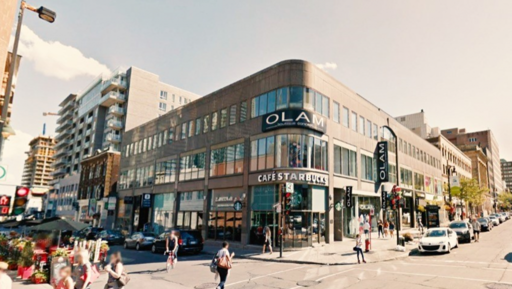 The Starbucks in Montreal